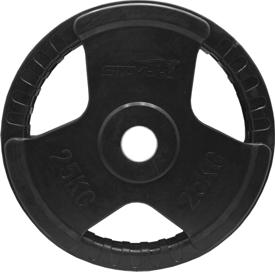 25kg obciążenie olimpijskie w gumie Stayer Sport NRB